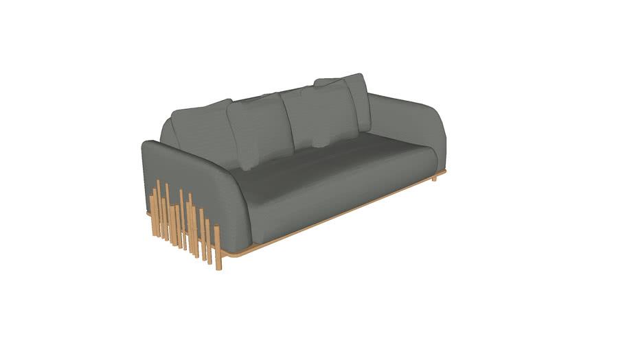Sofa Bambu 2,20m 2BR CERCA