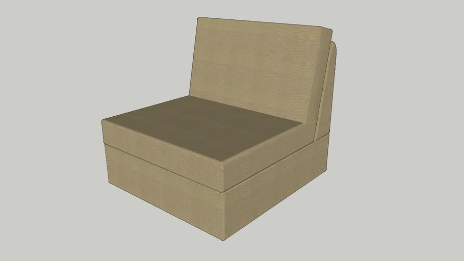 IKEA KIVIK One-seat section beige