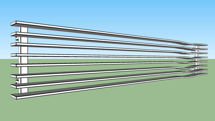 Terma Radiator Geo H 298 1800 O1