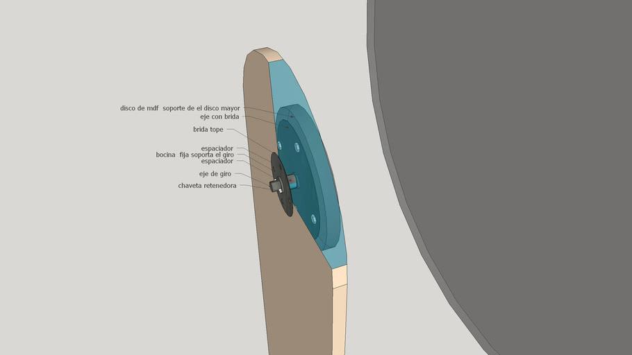 Mecanismo de giro de ruleta