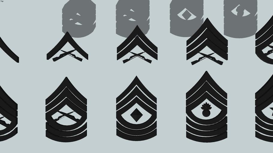 USMC enlisted insignia