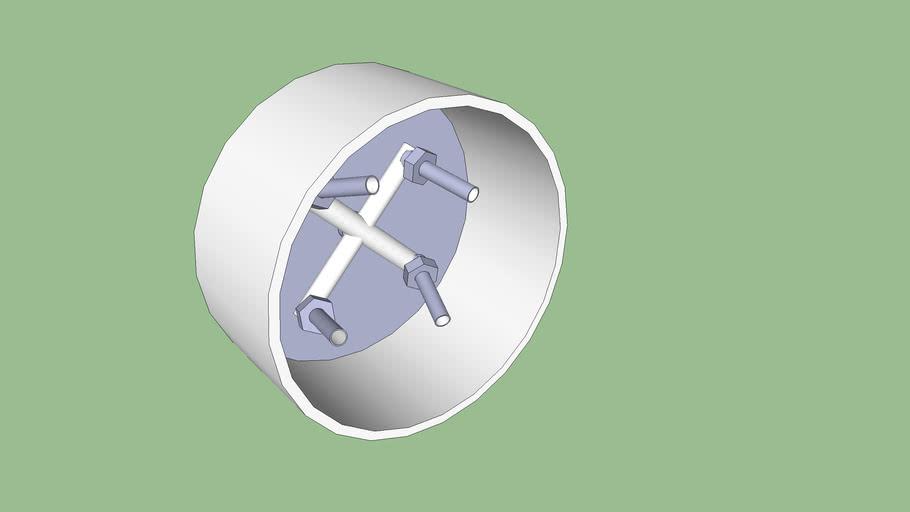 Hurracane spinner assembly.