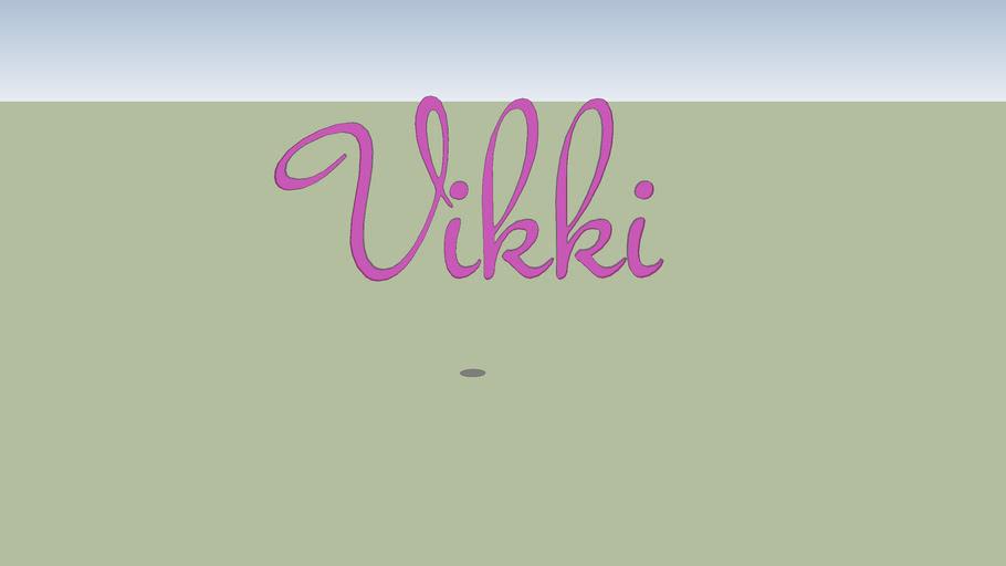 Wallhanging Vikki