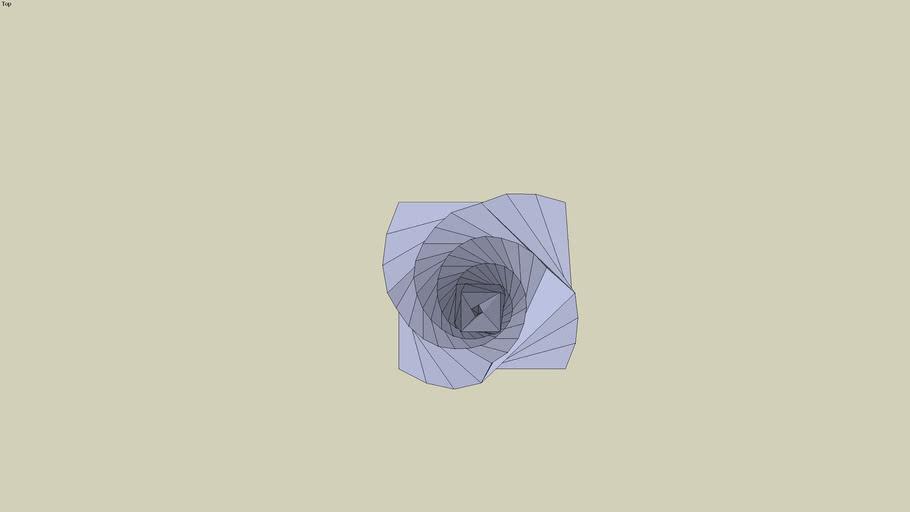 pointe en spirale