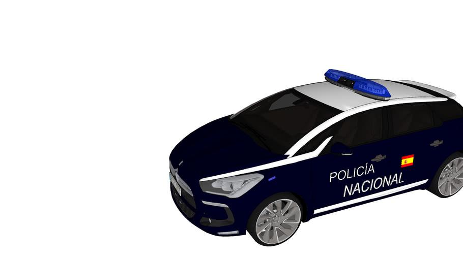 Patrulla policia nacional