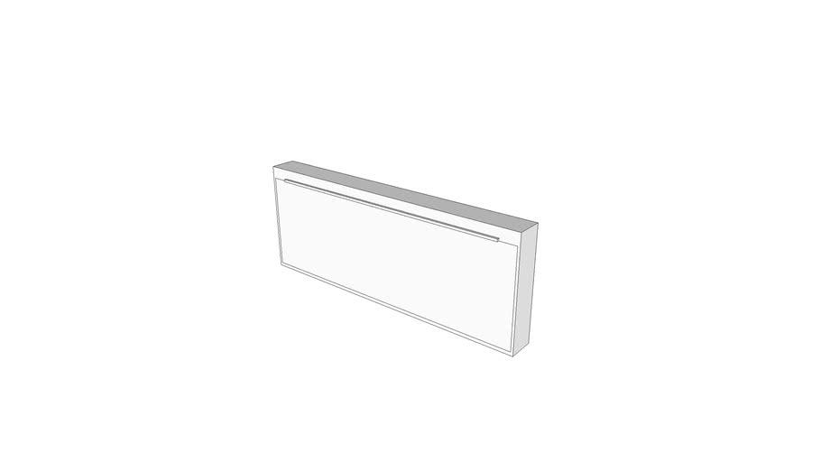 X3990 - Illuminator, Film, 4 Panels, Wall Mounted