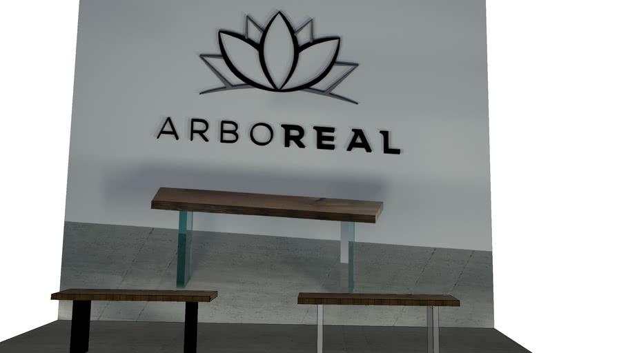 ArboREAL - Aparador de Madeira com Borda Orgânica