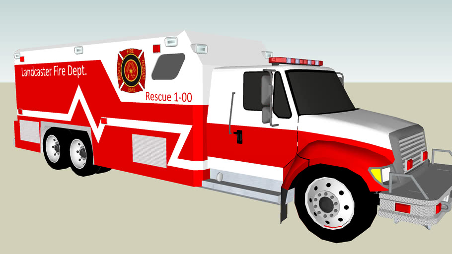 Landcaster Fire Dept: Rescue 1-00