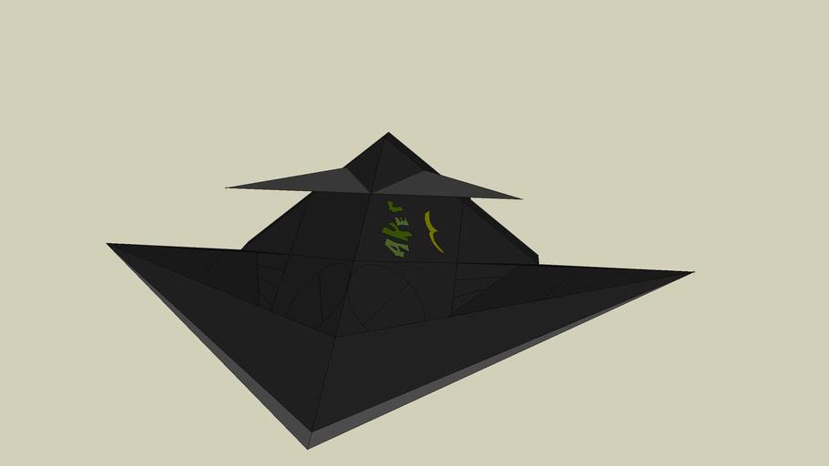 concept aereo invisibile