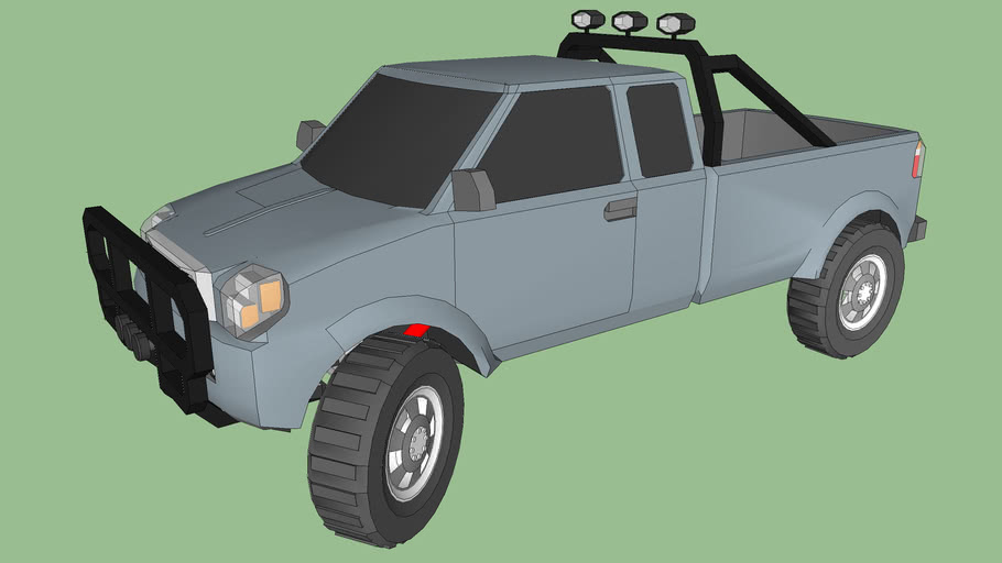 off road small truck (pick-up)