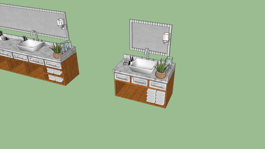 Muebles de Baños Tropicales