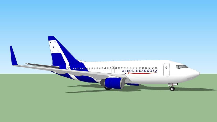 Boeing 737-700 de Aerolineas SOSA