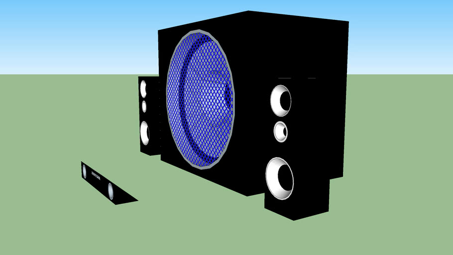GG45 AUX/MP3/CD SPEAKERS