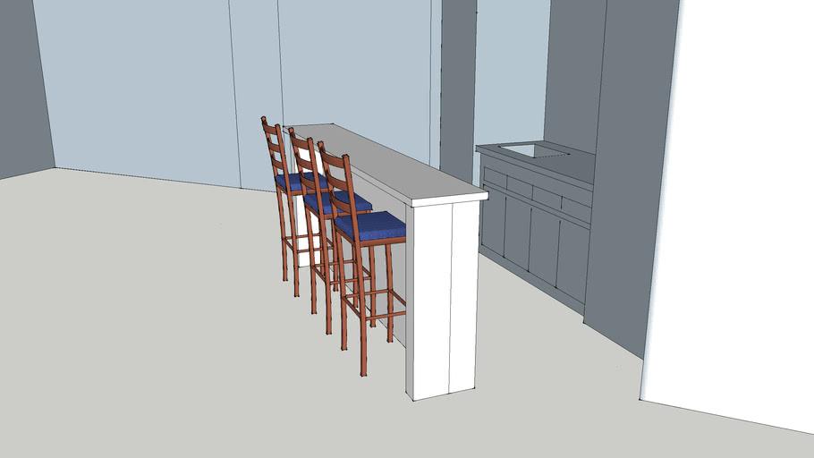 Basement Corner Bar