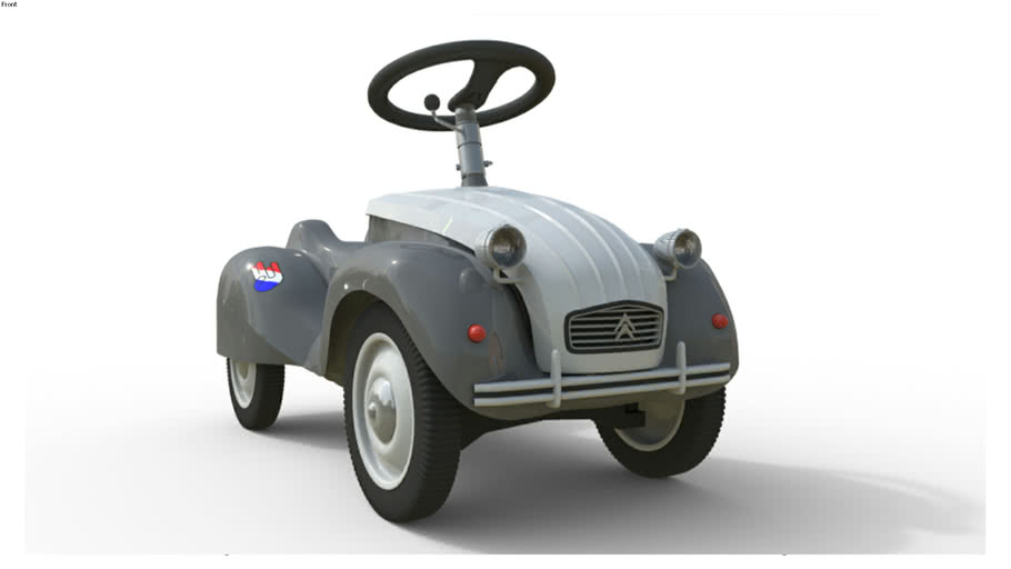 French Bobby Car