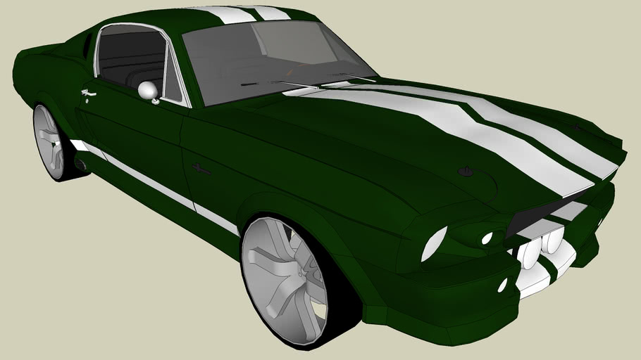 Modified Ford Mustang GT500 ELEANOR