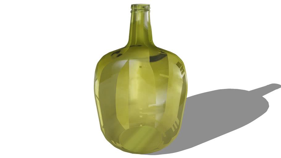 Garrafão vidro decorativa