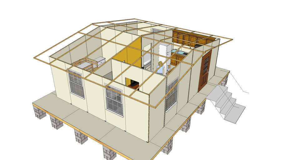 Small House 480 Sq Ft 40 M