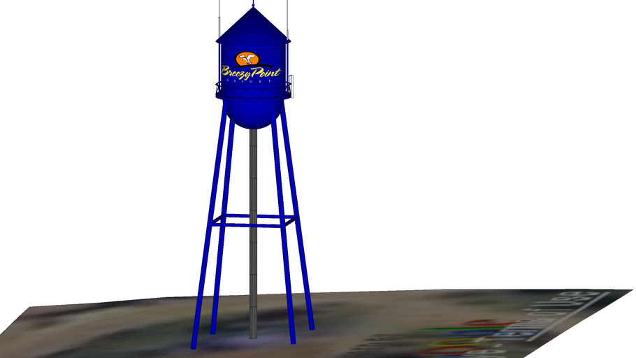 Breezy Point Resort Water Tower