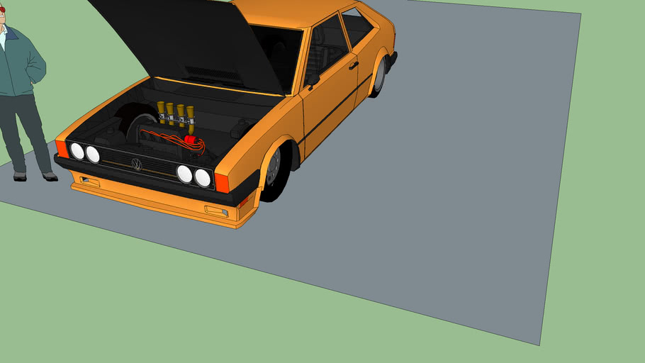 1980 VW Scirocco 4cilindros (1parte)