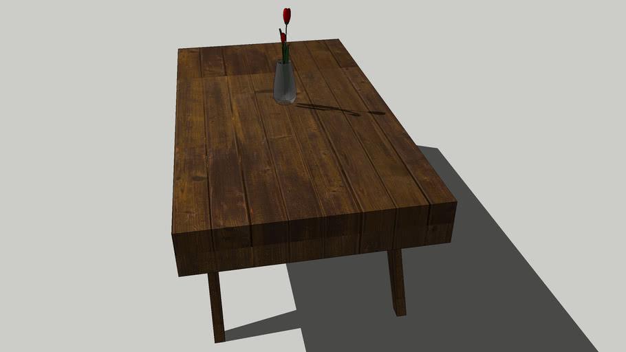 Coffee table- wood panel