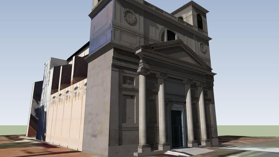 Duomo di San Massimo after the earthquake