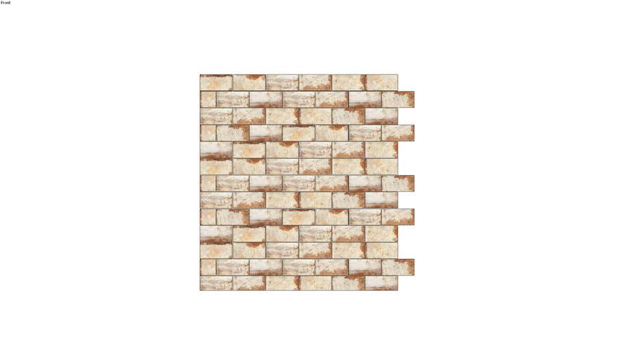 "Wall tiles: ""brick"""
