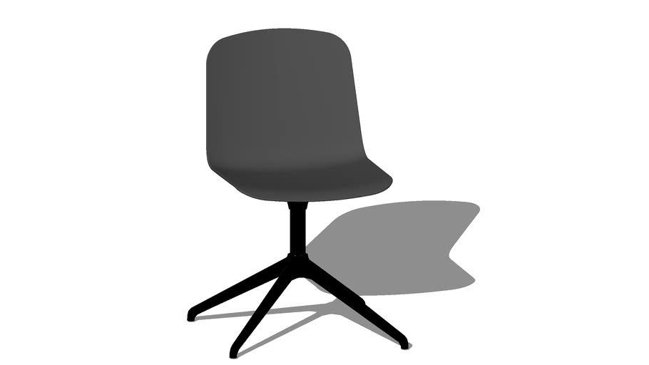 Sky chair, 4 star base, Polypropylene shell, by Icons of Denmark
