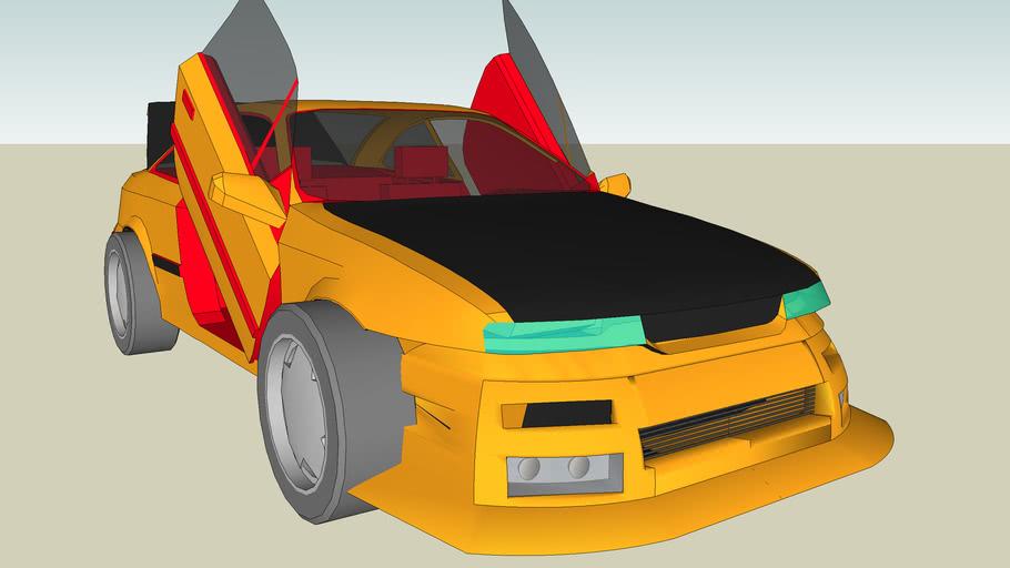 Opel Calibra Xtreme Style Tuning