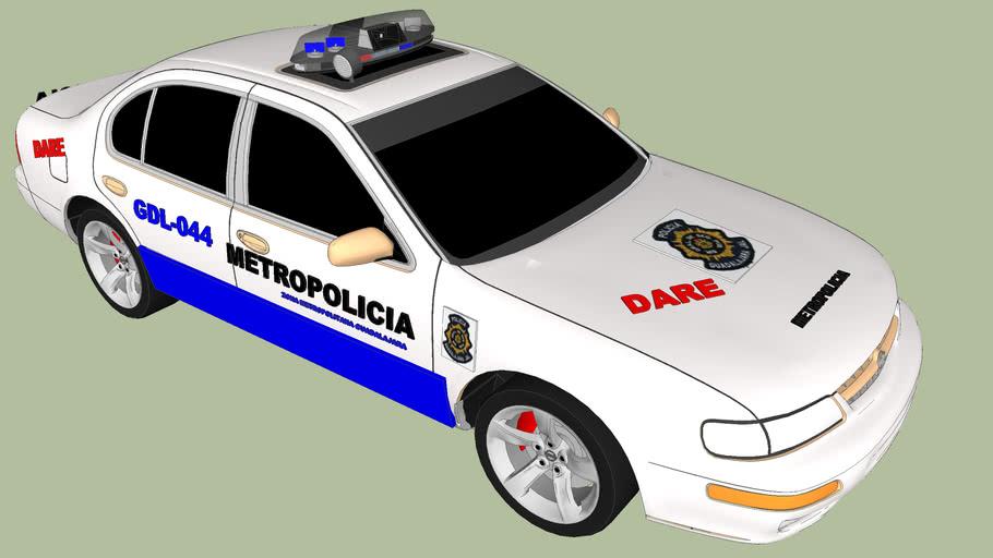PATRULLA DE METRO POLICIA DARE GUADALAJARA JALISCO MEXICO