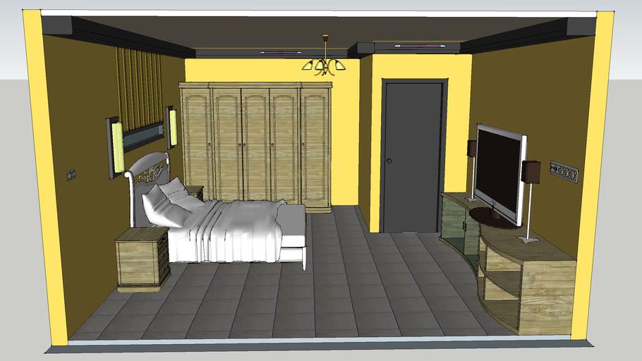 Desain Interior Kamar Tidur 3d Warehouse