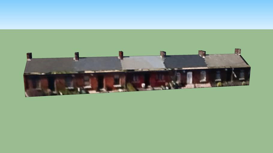 Row of Cottages, Grace Park Avenue, Drumcondra, Dublin, Ireland