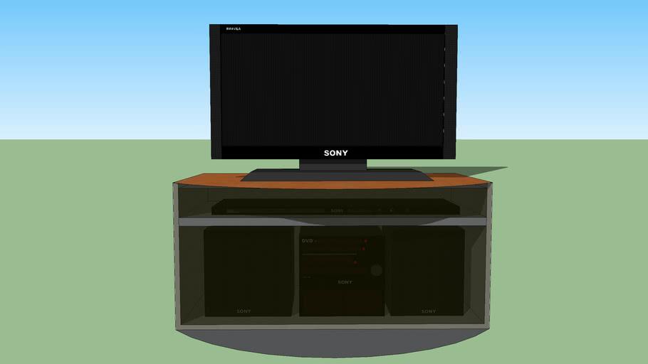 SONY BRAVEA tv set