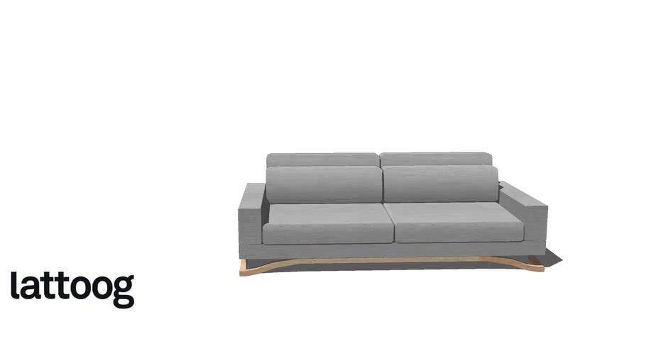 Sofá Float 220 cm - Lattoog