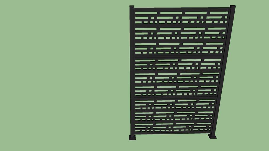 Decorative Srn Panel in Frame Kit
