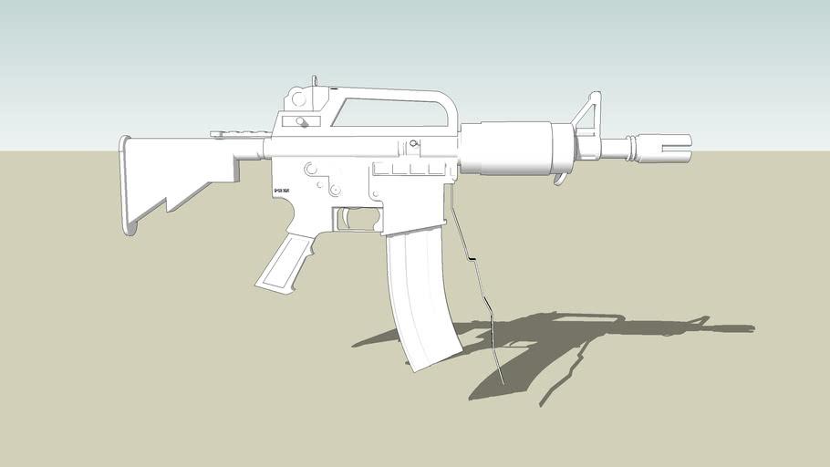 M 16 SMG ( M12 SOVIET SMG )