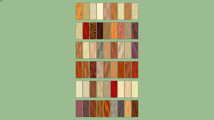 akb Wood Species -- wood materials texture bonus pack