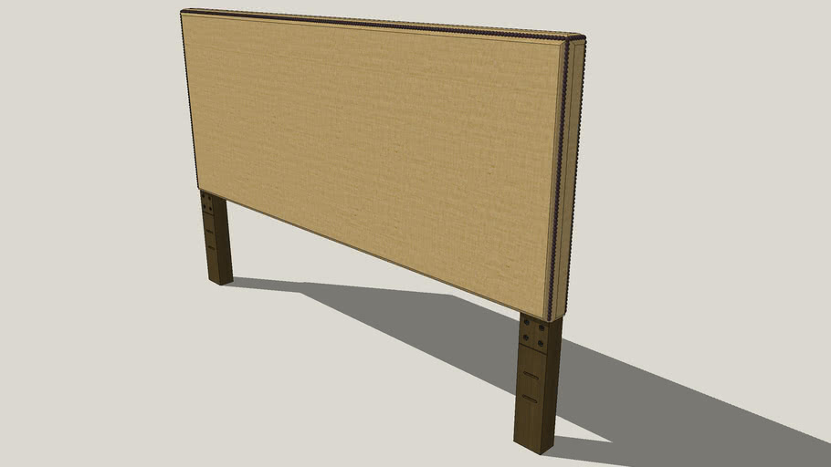 nailhead upholstered headboard (full 36)