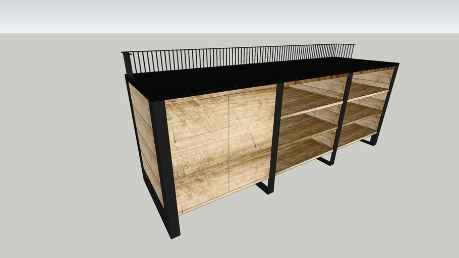 Coffee stand table