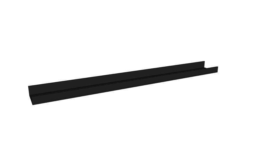 Mondeo Wall Shelf 90cm_Black
