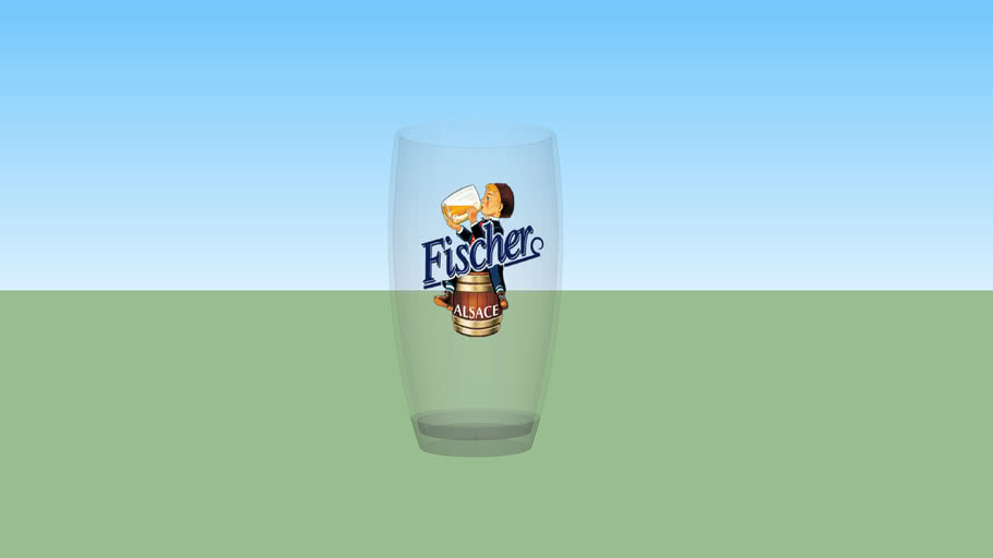 verre biere 3- beer glass 3
