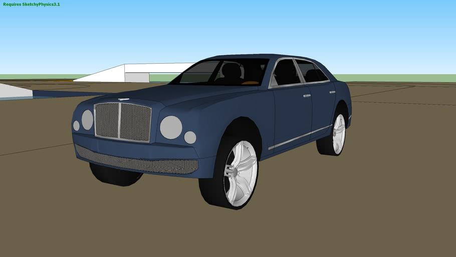 Bentley Mulsanne Sketchyphysics