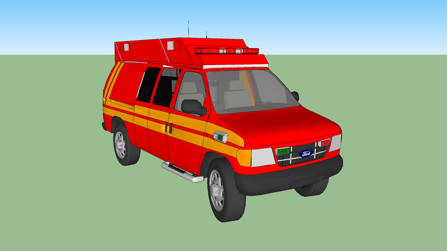 ambulance fire fresno california