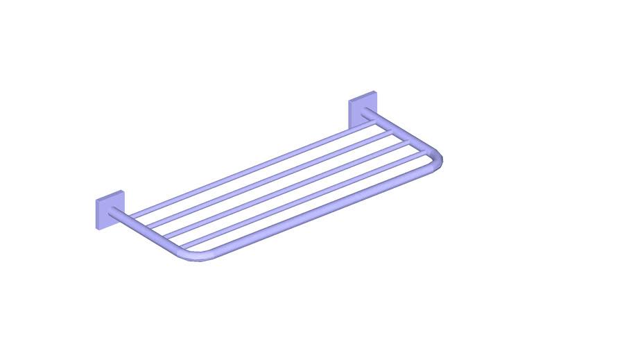 JUSTIME Bath Towel Rack (600mm) _6818-65-80CP