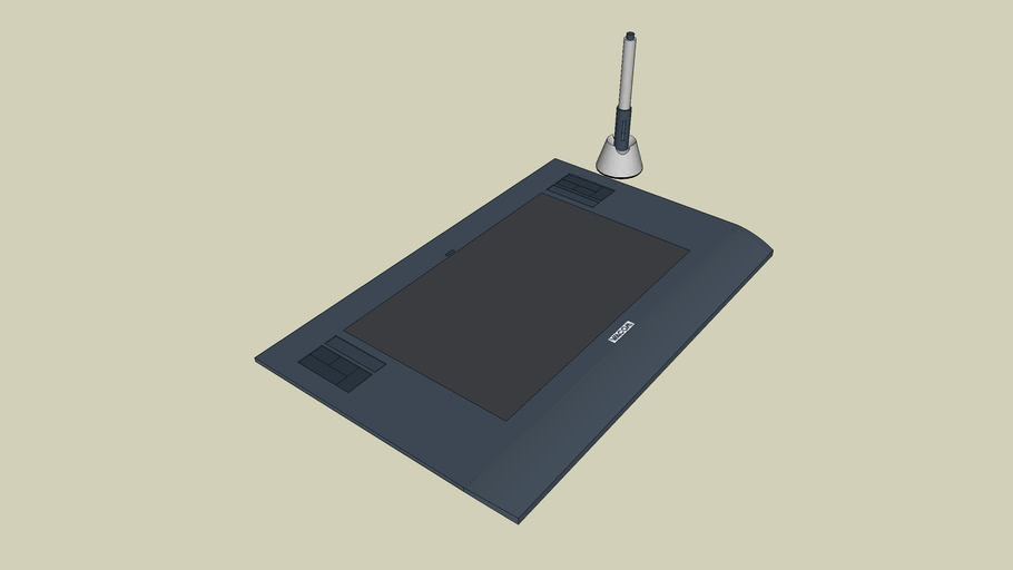 Wacom intuos 3 A5 wide tablet