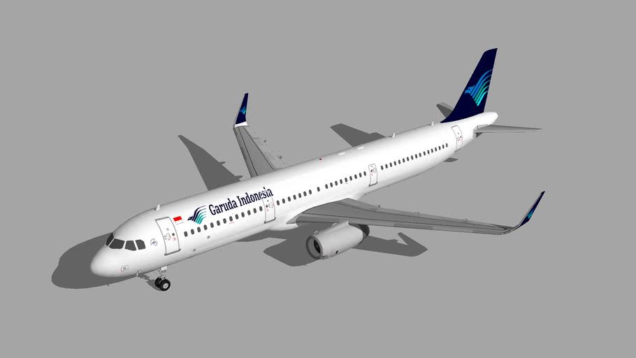 Garuda Indonesia Airbus A321-200 6
