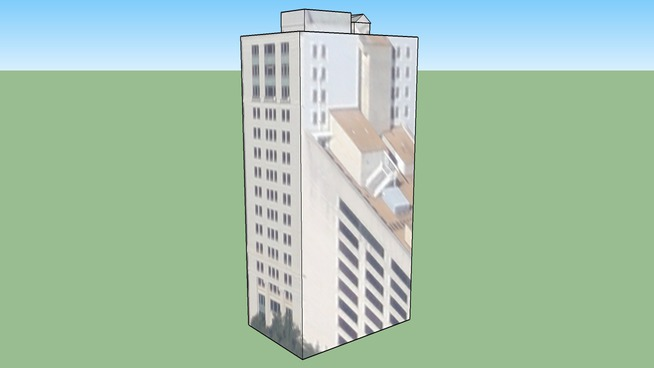 Building in Savannah, GA, USA