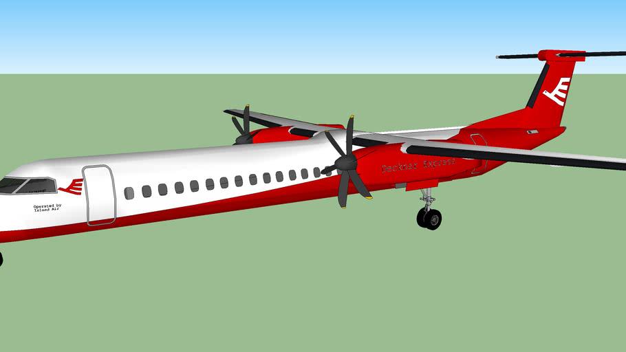 Decknar Express Bombardier DHC 8 Q400 (Island Air)