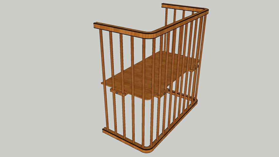 baby crib for main bed