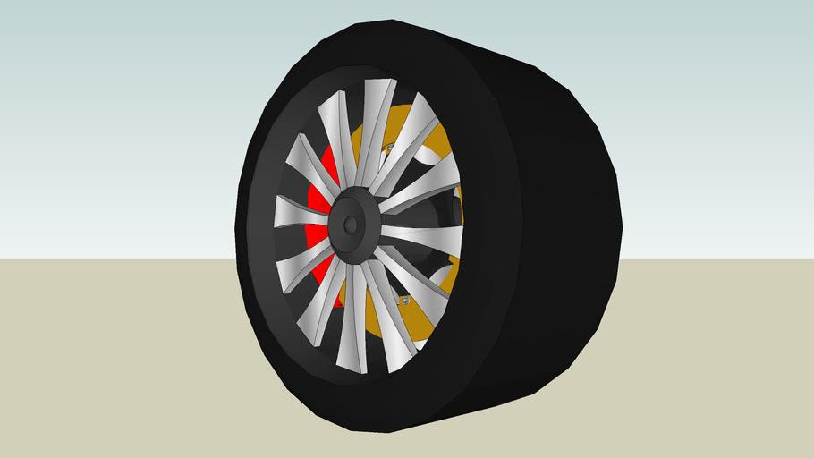 Tuner Wheel Chrome